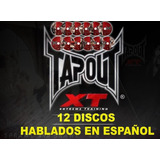 Tapout Xt 12 Discos Hablado En Español Hd Full Menu Original