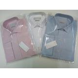 Camisa P/gemelos Packx2 Richard Derau- Puro Alg-titulo 80:1