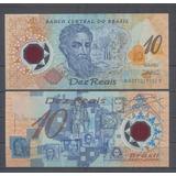 Brasil 10 Reis 2000 Pick 248a Polimero * Sin Circular *