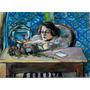 Quadro - Painel Matisse Peixes Vermelho 50x70 L.salustriany