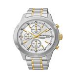 Reloj Seiko Sks423 Hombre Acero Combinado Quartz Plateado