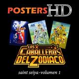 Posters Caballeros Del Zodiaco Saint Seiya