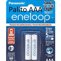 Pilha Palito Eneloop Panasonic Aaa Recarregável