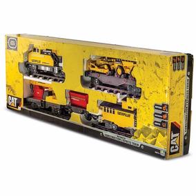 Trenzinho Gigante Construction Express Train Cat Trem Dtc