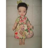 Boneca Princesa Branca De Neve - Cotiplas - Mede Cm.39. Leia