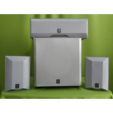 Yamaha Subwoofer Pasivo Gris Bocinas Laterales Y Central 3.1