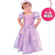 Disfraz De Rapunzel Carnavalito De 6 -12 Meses