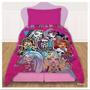 Acolchado Premium Monster High 1 Y 1/2 Plaza Piñata Disney