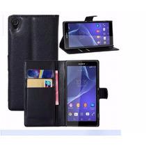 Funda Case Piel Para Sony Xperia Z3 Envió Gratis!!