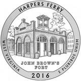 Moneda De Cuarto Dolar Estados Unidos -2016- Harper