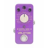 Pedal De Efectos Guitarra Valeton Coral Mod - 16 Modos