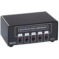 Seletor Chaveador P/ Vídeo Componente Switch Svc5x1 Sonytel
