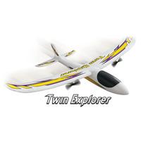 Avion Electrico Radio Control Dromida Twin Explorer