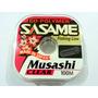 Nylon Tanza Sasame Musashi 0,18 Mm Transparente 100 Mts