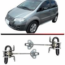 Par Limitador Porta Fiat Idea E Adv 06 Em Diante Dianteiro