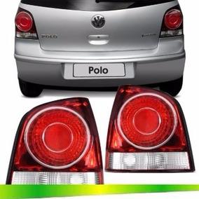 Par Lanterna Traseira Polo Hatch 2008 2009 2010 2011 2012