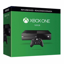 Xbox One 500gb Reconstruida ¡sólo En Gamers!