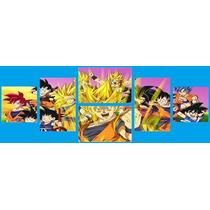 Cuadro Goku Dragon Ball Z (140cm X 50cm) Pedi Tu Imagen