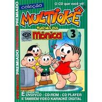 Multiokê - Turma Da Mônica 3 - Coleção Original ( Lacrado )