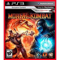 Mortal Kombat 9 Ps3 - Portugues Br - Jogos Cod Psn Digital