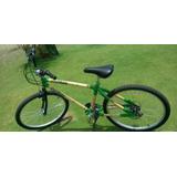 Bicicleta De Bambu Lancamento