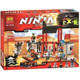 Ninjago Lego Alterno Ninja Samurai Kryptarium Prison Break
