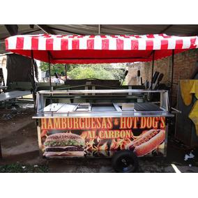 Carro Hot Dogs Parrilla Carros Hot Dog Carreta Hotdogs Carbo