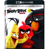 Blu Ray 3d 4k Ultra Hd Angry Birds Movie Dvd