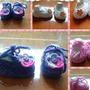 Zapatos Tejidos Niñ@s A Mano