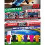 Pack 10 Camisetas Fútbol Fabrica