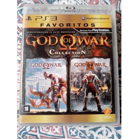 God Of War + God Of War 2 Collection Playstation 3 Ps3 Novo