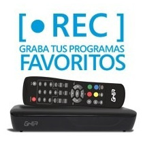 Decodificador Ghia Digital Tv C/grabacion Usb Antena Hd