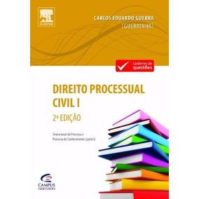 Livro Direito Processual Civil Vol.1 Carlos Eduardo Guerra