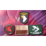 Set De Parches Pvc Militar Airsoft Navy Seal Spartan Velcro