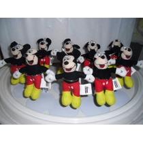 Mickey Mouse Disney 14cms 12 Por $690.00 Envio Gratis