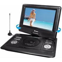Dvd Player Portatil X-tech Xt-pd1650 16.5 Tv Usb