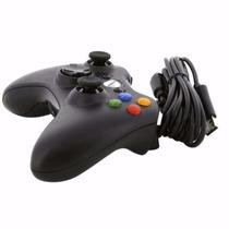Meses - Control P/xbox 360 Y Pc Msf Usb Ngr Microsoft