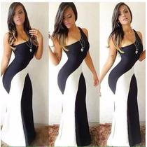 Vestido Longo Mula Manca 3d