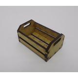 Mini Caixote De Feira Provençal (caixotinho) 6x4x3 Cm