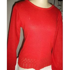 Blusa Feminina Vermelha Tam M
