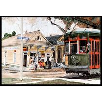 Calle De New Orleans Del Coche Mat Interiores O Exteriores D