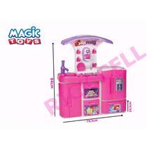 Cozinha Versátil Super Eletrônica 8031 - Magic Toys
