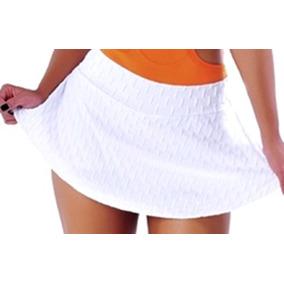 Short-saia Tecido Bolha Academia Fitness