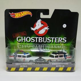 Hot Wheels - Ghostbusters - Ecto 1 E Ecto 1a - 1:64
