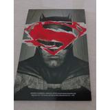 Bloco De Anotações Batman Vs. Superman 50 Folhas Sem Pauta