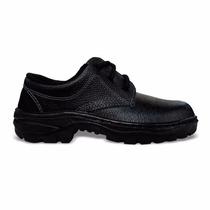 Sapato De Segurança Monodensidade Com Cadarço C/ Bico De Aço