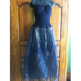 Vestido Likra Falda Transparente Unitalla Varios Colores