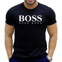 Camisa Hugo Boss Slim Fit Preta - Todos Os Tamanhos Pp-gg