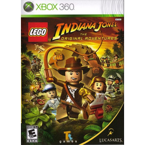 Juego Lego Indiana Jones 1 Xbox 360 Ntsc Original Español