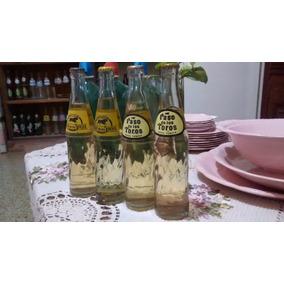 Botella Antigua De Paso De Los Toros De 250cm3 Llenas Unicas